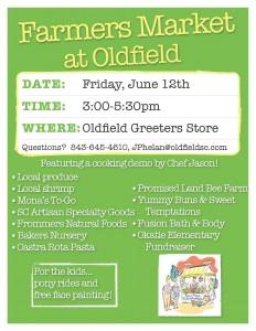 Oldfield Farmers Market Poster - June 12 2015 (3)