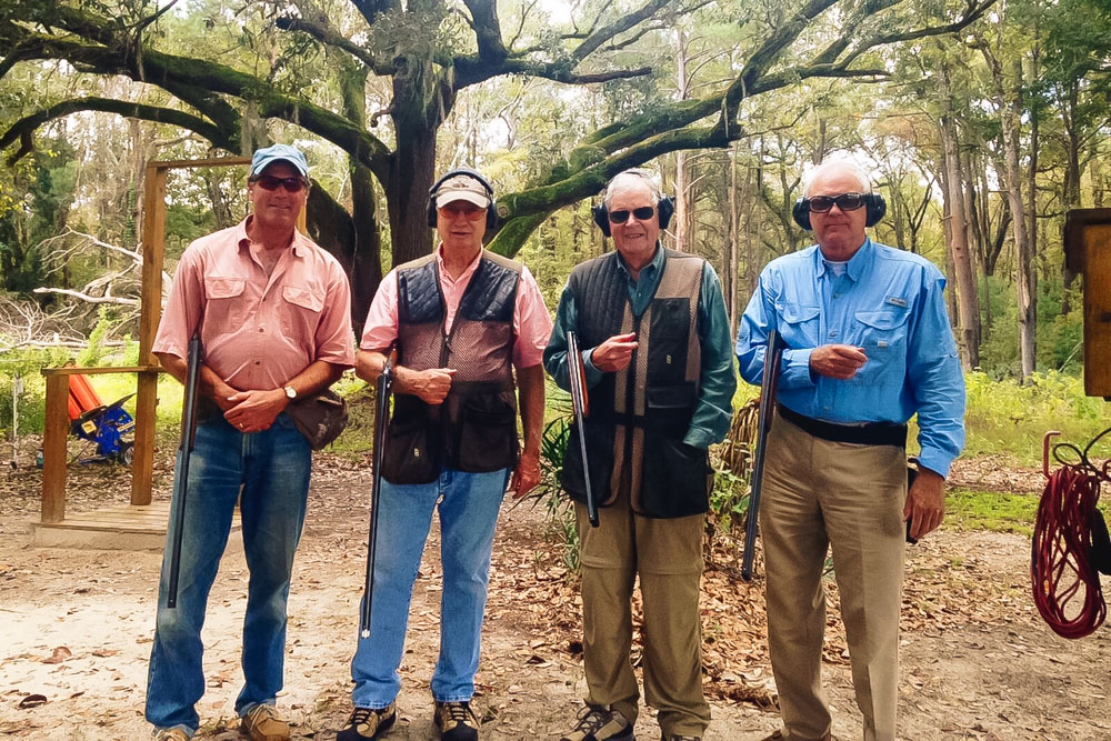 Clay Shooting at Turkey Hill Plantation